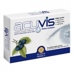 Acuvis gotas oculares estériles monodosis 0.5ml 10 unidades