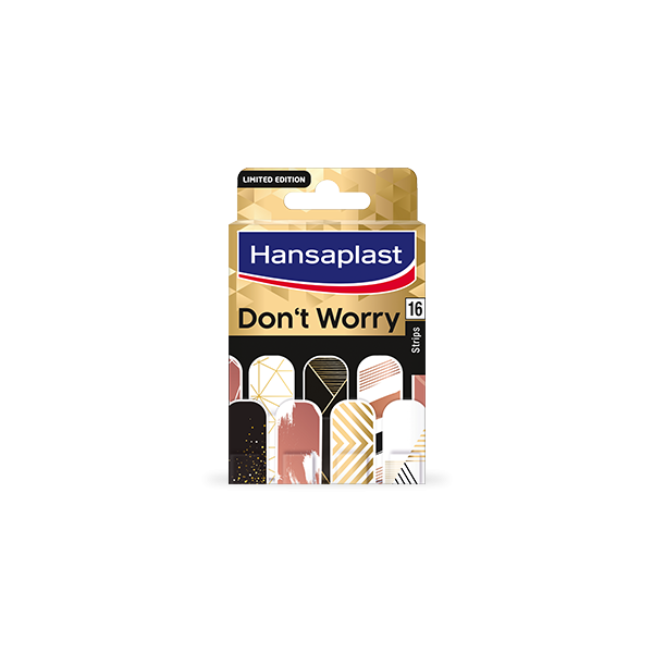 Hansaplast dont worry limited edition aposito adhesivo 16