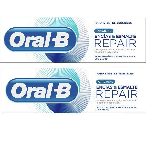 Oral-B Gum&Enamel Original pasta dental duplo 2x125ml