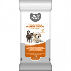 Toallitas higiene animal azahar