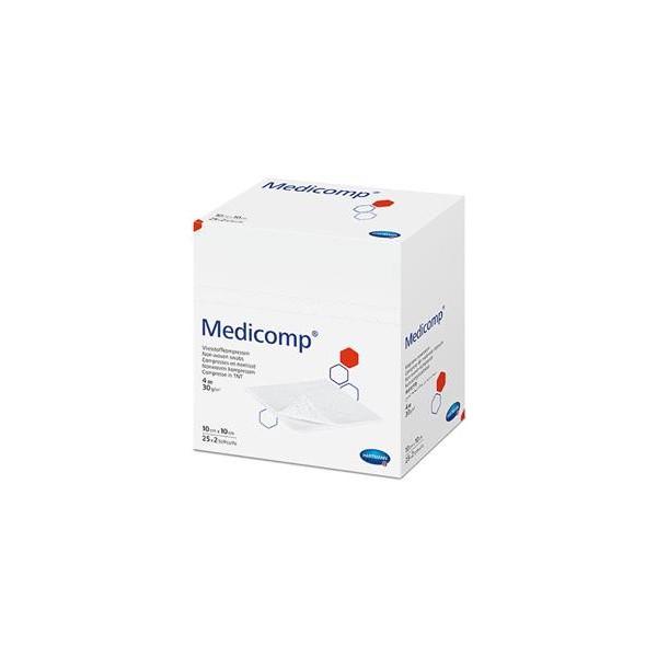 Medicomp gasa esterilizada 50 unidades 25 sobres