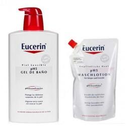 Eucerin Gel 1l+ Ecoparck 400ml