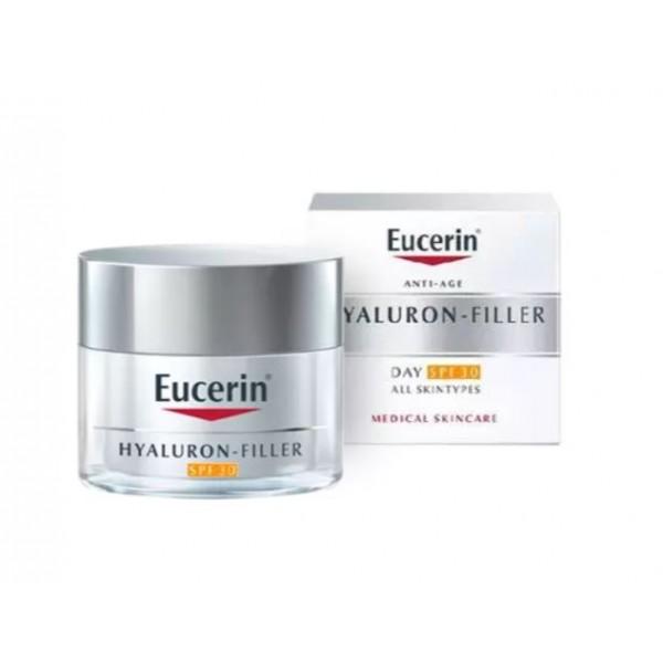 Eucerin antiedad hyaluron filler día FPS30 50ml