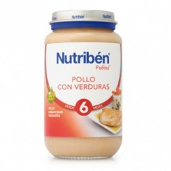 Potito Nutriben Pollo con Guisantes y Zanahorias 250 G