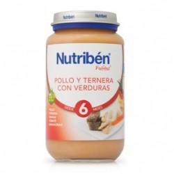 Potito Nutriben Pollo y Ternera con Verduritas 250 G