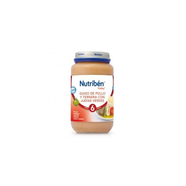 Potito Nutriben Ternera con Judias Verdes y Zanahorias 250 G