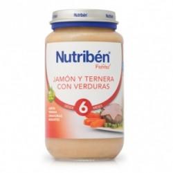 Potito Nutriben Jamon y Ternera con Menestra de Verduras 250 G