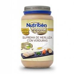 Potito Nutriben Suprema de Merluza con Guisantes Zanahorias 235