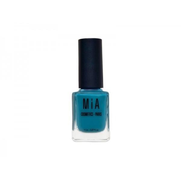 Mia esmalte de uñas Laurens 11ml Lagoon azul verdoso