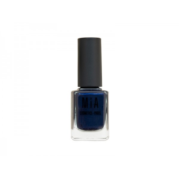 Mia esmalte de uñas 11ml Laurens Midnight Sky azul oscuro