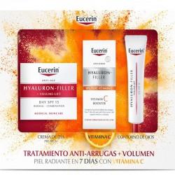 Eucerin Cofre XMAS Volume Filler Seca Vitamina C contorno