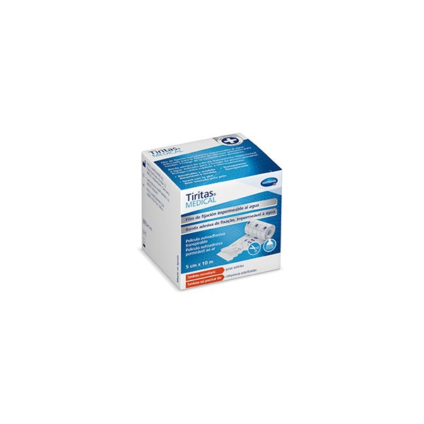 Tiritas Medical fijación impermeable al agua 10mx5cm