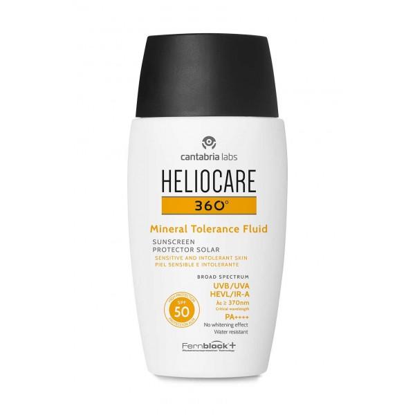 Heliocare 360º SPF 50 Mineral Tolerance Fluid Protector Solar