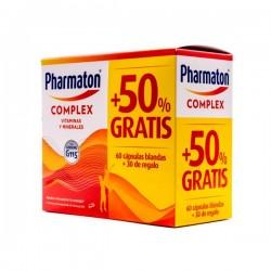 Pharmaton Complex 90 cápsulas pack promocional