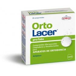 Lacer protabs aparato ortodoncia 20 comprimidos
