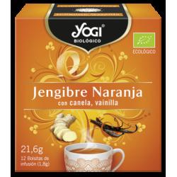 Yogi Tea Jengibre Naranja Vainilla