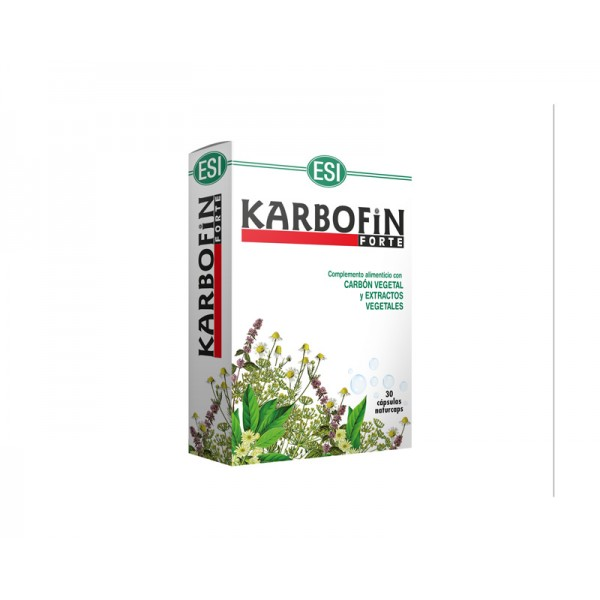 Karbofin Forte 60 cápsulas