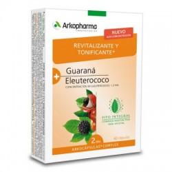 Arkopharma guarana y eleuterococo Arkocapsulas Complex 40