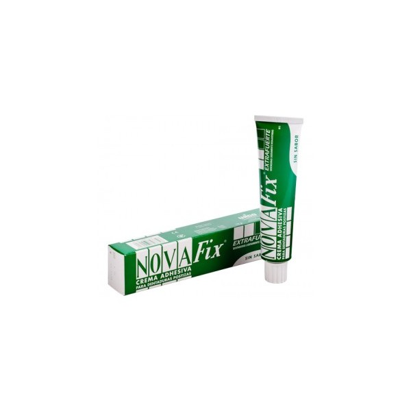 Novafix extra fuerte crema 20gr sin sabor