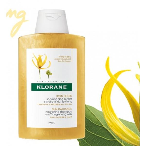 Klorane Champu a la Cera de Ylang Ylang Nutritivo y Reparador