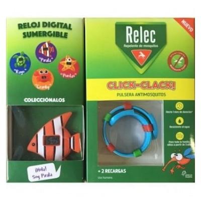 Relec pulsera repelente Click-Clack niños