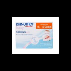 Narhinel confort recambio 20 unidades