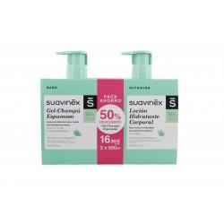 Suavinex Duplo Gel Espumoso + Locion Pack 500ml + 500ml