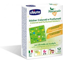 Chicco Parches Perfumados Colores 12UD