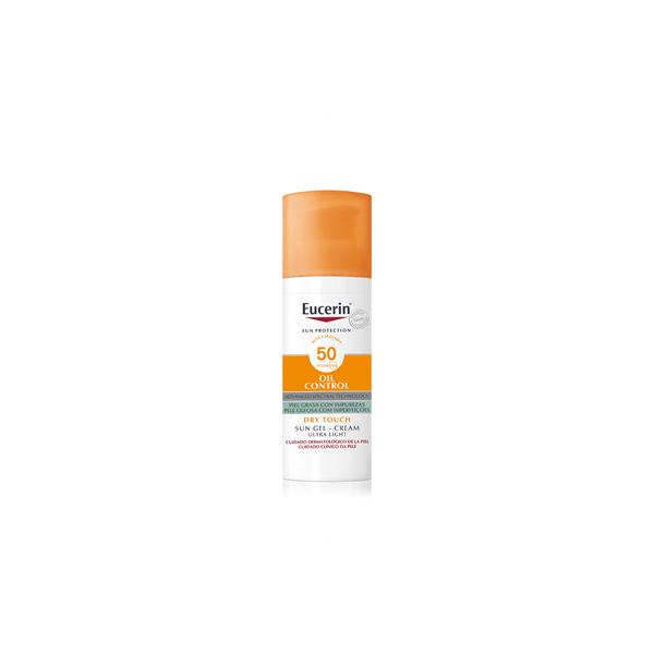Eucerin Sun Protection 50+ Gel Creme Rostro Oil Control 50ml