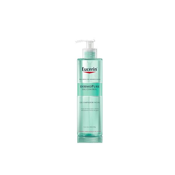 Dermopure Oil Control Gel Limpiadora Facial 400ml Eucerin