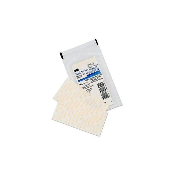 Steri strip 100mmX6mm 10 tiras suturas ahesivas