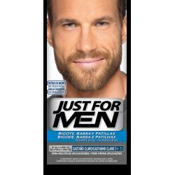 Just for men bigote y barba castaño claro