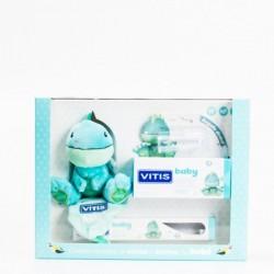 Vitis baby pack cepillo dental + Gel calmante 30 ml + Gadget +
