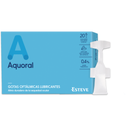 Aquoral 0,5 ml 20 unidades