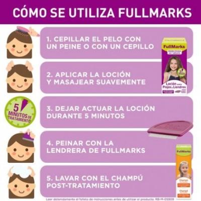 Fullmarks Sol Pediculicida 100X6