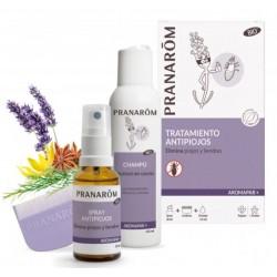 Aromapar + tratamiento antipiojos pack 30ml spray + 125ml champú