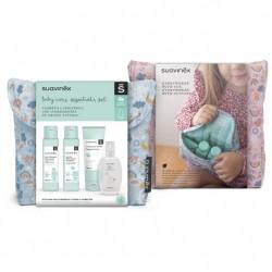 Neceser de viaje Baby Care Essential rosa Suavinex