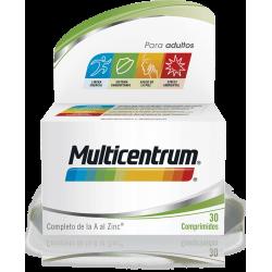 Multicentrum adultos 30 comprimidos