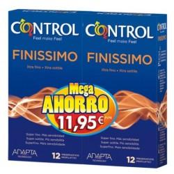 Control finissimo XL preservativos 12+12unidades pack ahorro