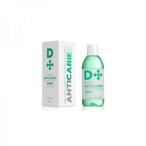 D+ Plus anticaries enjuague bucal 500 ml